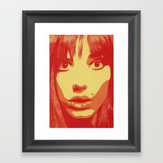 Jane Birkin Framed Art Print