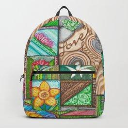 Zen Aloha Garden Backpack