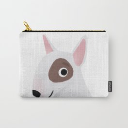 Bull Terrier - Cute Dog Series Carry-All Pouch