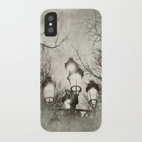 lantern iPhone & iPod Cases featuring Vintage Lantern by Victoria Herrera