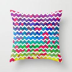 Mixed Colors Throw Pillow