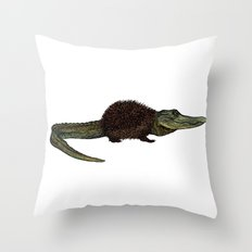 Alihog Throw Pillow