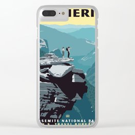 See America, Yosemite National Park Clear iPhone Case