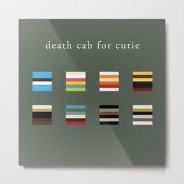 Album Art Series: Death Cab for Cutie Metal Print