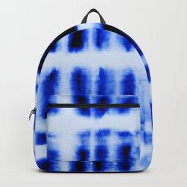 Shibori  Block Pattern Backpack