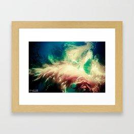 Majestic Seaweed Framed Art Print