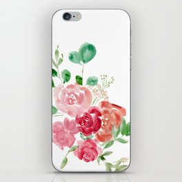 February Florals iPhone Skin