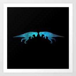 Pachycephalosaurus Art Print