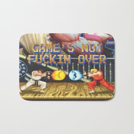 GAME'S NOT FUCKIN OVER! pt. 1 Bath Mat