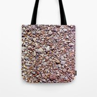 rocky Tote Bags featuring rocky by jmdphoto