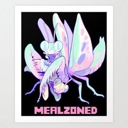 mealzoned Art Print