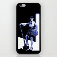 scott pilgrim iPhone & iPod Skins featuring Ramona Flowers - Scott Pilgrim by Danielle Tanimura