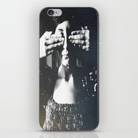 letters iPhone & iPod Skins featuring Letters by Deniz Kantürk