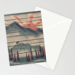 Mountain Goat Drifter... Stationery Cards