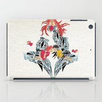 ponyo iPad Cases featuring ponyo on the cliff by the sea by Manoou