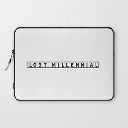Lost Millennial Laptop Sleeve