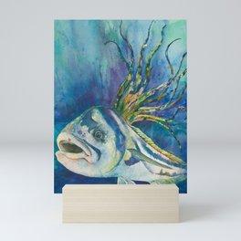 Roosterfish Mini Art Print