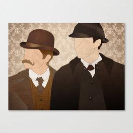 Watson & Holmes Canvas Print