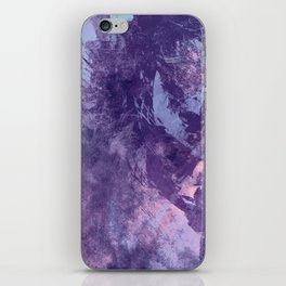 Purple texture iPhone Skin