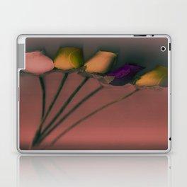 Plastic Flowers Laptop & iPad Skin