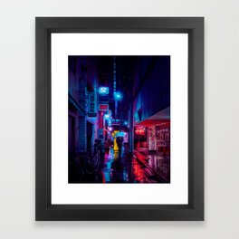 Tokyo Nights / Minutes To Midnight / Liam Wong Framed Art Print