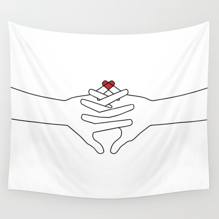 The Power of Love Wall Tapestry