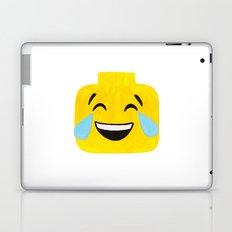 Tears of Joy - Emoji Minifigure Painting Laptop & iPad Skin