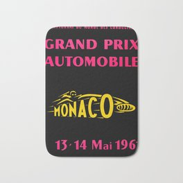 Monaco 1961 Grand Prix Bath Mat