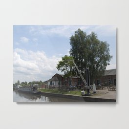 Fradley junction wharf Metal Print