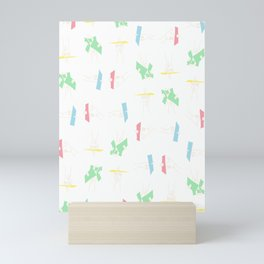 finger through your pictures Mini Art Print