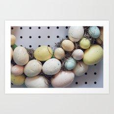 Easter treats Art Print