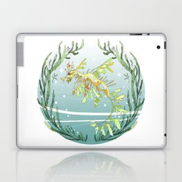 Leafy Seadragon in Green Laptop & iPad Skin