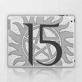 SPN Print (Grey) Laptop & iPad Skin