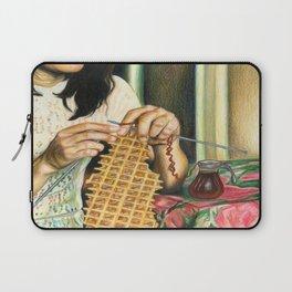 Knitting Waffles Laptop Sleeve