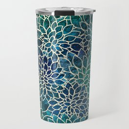 Floral Abstract 4 Travel Mug