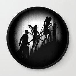 The Nosferatu Slayer Wall Clock