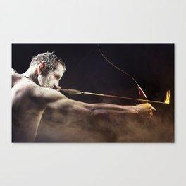 My warrior  Canvas Print