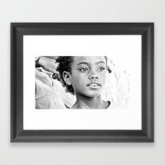 La beauté de Madagascar. Africa. Framed Art Print