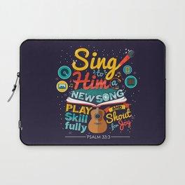 Psalm 33 Laptop Sleeve