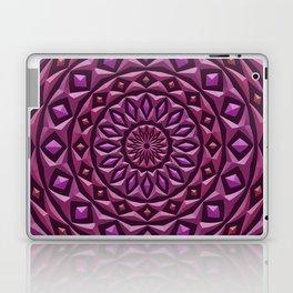 Carved in Stone Mandala Laptop & iPad Skin