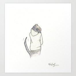 Tight Club Attitude Art Print