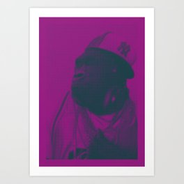 The Crazy Monkey Project Art Print