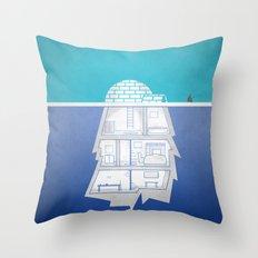 igloberg Throw Pillow