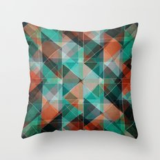 Oxidation Throw Pillow