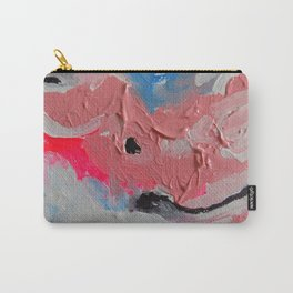 Nantucket Coral Wave Carry-All Pouch