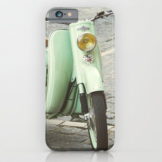 Mint Moto iPhone & iPod Case