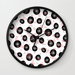 E.Y.E.S. NN MM Wall Clock