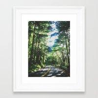 portland Framed Art Prints featuring portland by bri ochoa