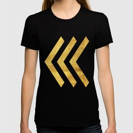 Arrows in Gold T-shirt