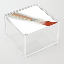 Painting It Red Acrylic Box